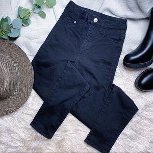 &Denim Super High Rise Skinny Jeans
